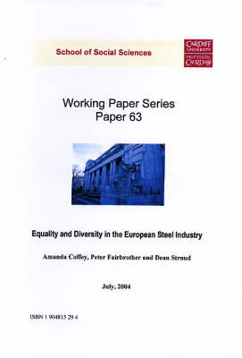 Equality and Diversity in the European Steel Industry