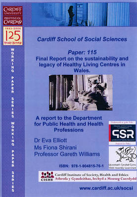 Final Report on the Sustainability and Legacy of Healthy Living Centres in Wales