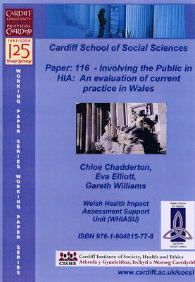 Involving the Public in HIA: An Evaluation of Current Practice in Wales