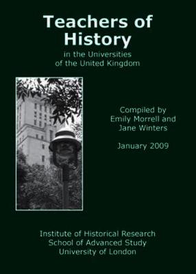 Teachers of History in the Universities of the United Kingdom 2009: 2009