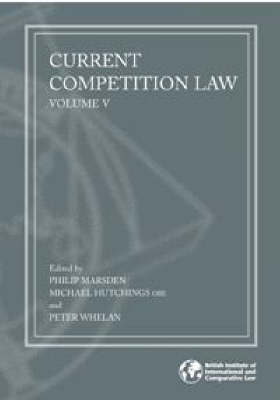 Current Competition Law: v. 5