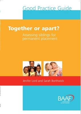 Together or Apart?: Assessing Siblings for Permanent Placement