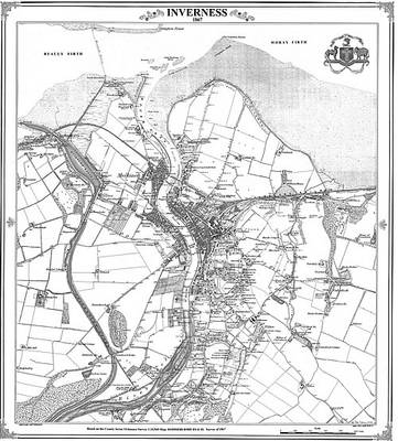 Inverness 1867 Map