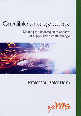 Credible Energy Policy: Meeting the Challenges of Security of Supply and Climate Change
