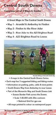 Central South Downs Pack of Maps and Guides: Complete Set of South Downs Maps and Guides