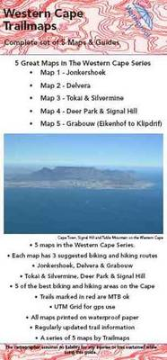 Western Cape Set of 5 Maps and Guides Series 1: Set 1 of 5 Western Cape Maps and Guides