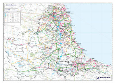 Durham and Tyne and Wear County Planning Map: No. 1A