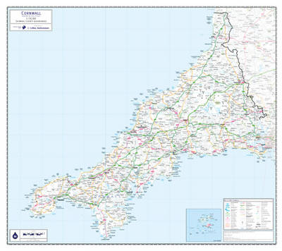 Cornwall County Planning Map: No. 1A