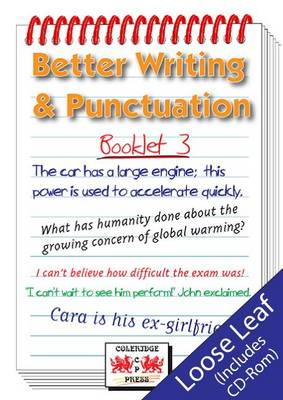 Better Writing and Punctuation: Booklet 3