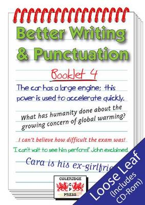 Better Writing and Punctuation: Booklet 4