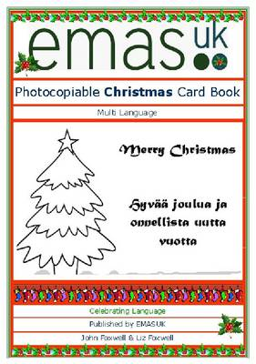 Multilingual Christmas Card Book