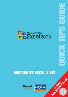 Microsoft Excel 2003 Quick Tips Guide