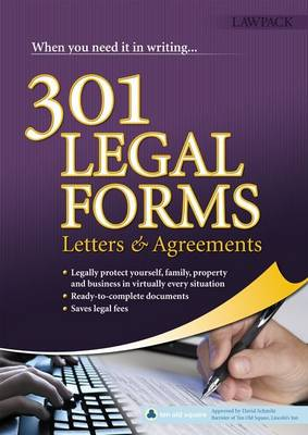 301 Legal Forms, Letters and Agreements