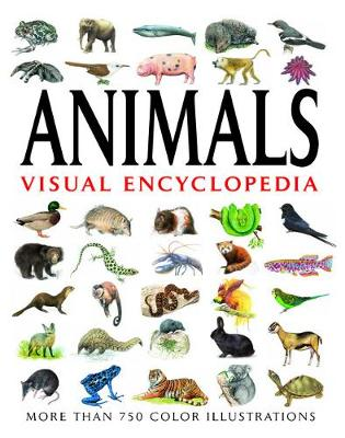 Animals Visual Encyclopedia: More than 750 colour illustrations