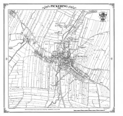Pickering 1848 Heritage Cartography Victorian Town Map