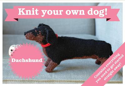 BEST IN SHOW. DACHSHUND KIT - KNIT YOUR OWN DOG