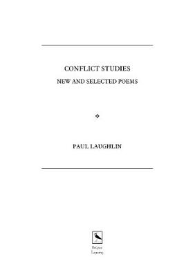 Conflict Studies: NEW AND SELECTED POEMS