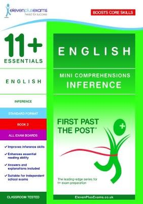 11+ Essentials English Mini Comprehensions: Inference Book 2