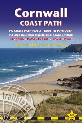 Cornwall Coast Path: Practical walking guide with 142 Large-Scale Walking Maps & Guides to 81 Towns & Villages - Planning, Places to Stay, Places to Eat - Bude to Plymouth (Trailblazer British Walking Guide)