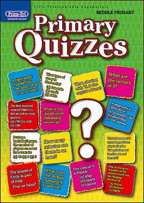 Primary Quizzes Middle (ages 7-9): Middle primary