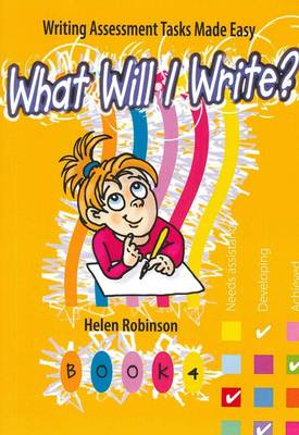 What Will I Write