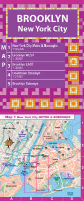 Brooklyn NY City Map