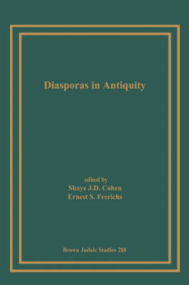 Diasporas in Antiquity