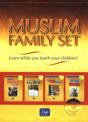 Muslim Family Set: Learn While You Teach Your Children!