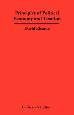 Principles of Political Economy and Taxation