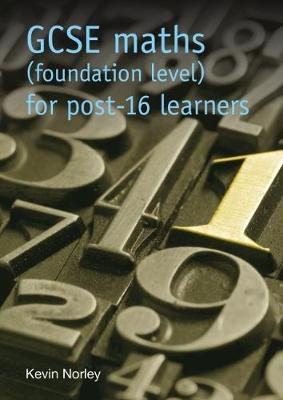 GCSE maths (foundation level) for post-16 learners