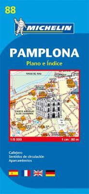Pamplona - Michelin City Plan 88: City Plans