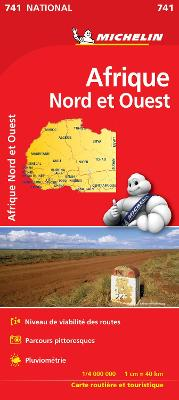 Africa North & West - Michelin National Map 741: Map
