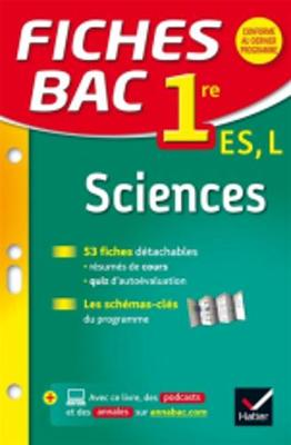 Fiches Bac: Sciences 1re Es/L