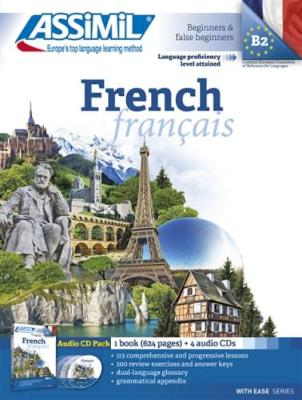 Pack CD French (1 Book + 4 Audio CD)