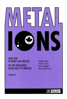 Metal Ions in Biology and Medicine: v. 3