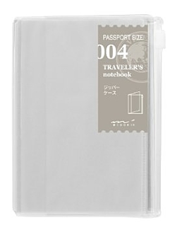 Traveler's Notebook Passport Refill 004 Zipper Pocket
