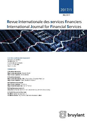 Revue internationale des services financiers 2017/1