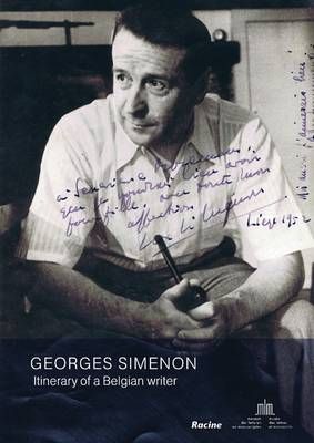 Georges Simenon: Itinerary of a Belgian Writer