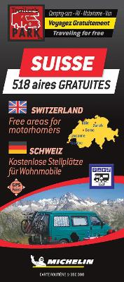 Switzerland - Motorhome Stopovers: Trailers Park Maps