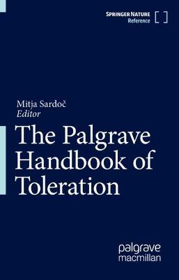 The Palgrave Handbook of Toleration