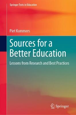 Sources for a Better Education: Lessons from Research and Best Practices