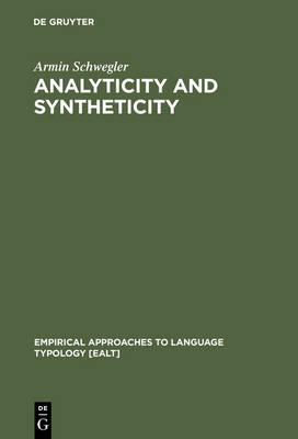 Analyticity and Syntheticity: A Diachronic Perspective with Special Reference to Romance Languages