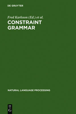 Constraint Grammar: A Language-Independent System for Parsing Unrestricted Text