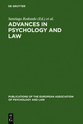 Advances in Psychology and Law: International Contributions