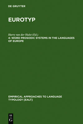 Word Prosodic Systems in the Languages of Europe