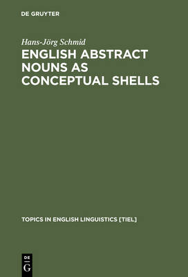 English Abstract Nouns as Conceptual Shells: From Corpus to Cognition