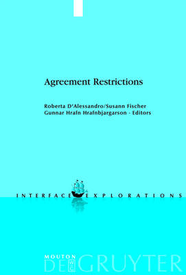 Agreement Restrictions