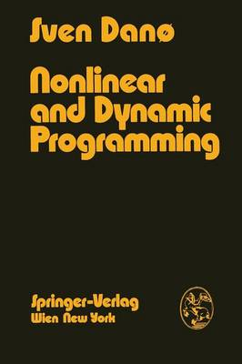 Nonlinear and Dynamic Programming: An Introduction