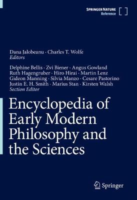 Encyclopedia of Early Modern Philosophy and the Sciences