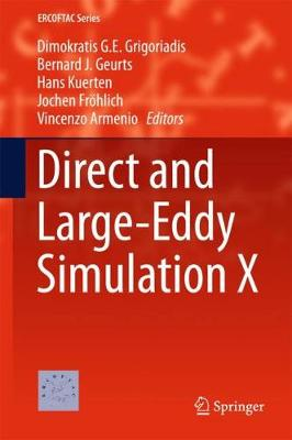 Direct and Large-Eddy Simulation X